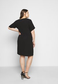 Kaffe Curve - LOTA DRESS - Day dress - black - 2