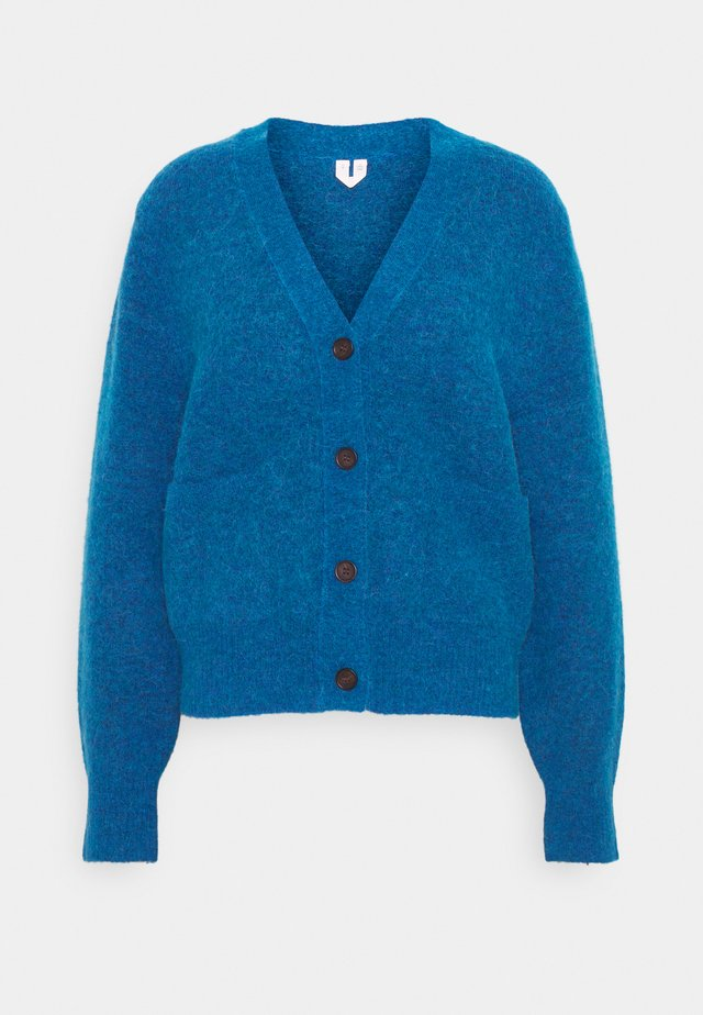 HEAVY KNIT - Vest - blue melange