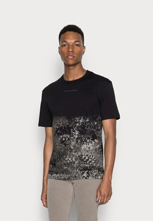 JCONINES TEE CREW NECK - T-shirt print - black