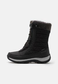 Hi-Tec - AURORA WP - Botas para la nieve - black/mid grey - 0