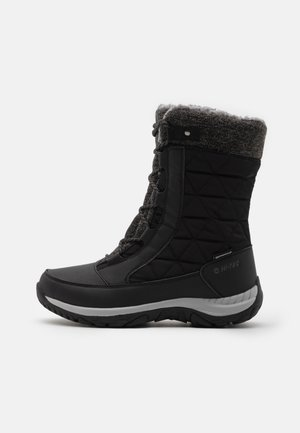 AURORA WP - Snowboots  - black/mid grey
