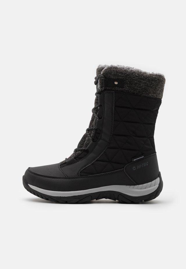 AURORA WP - Zimní obuv - black/mid grey