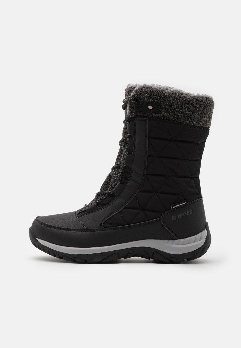 Hi-Tec - AURORA WP - Botas para la nieve - black/mid grey