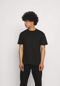 Only & Sons - ONSBOBDYLAN LIFE TEE - T-shirt med print - black - 0