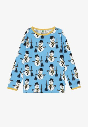 SNOWMAN - Long sleeved top - winter blue