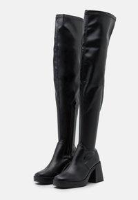 RAID Wide Fit - JOYEN - Kozačky na vysokém podpatku - black - 2