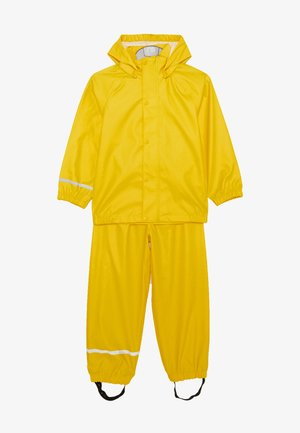 NKNDRY RAIN SET - Pantalones impermeables - empire yellow