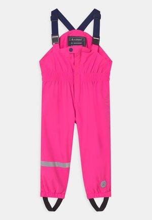 JAELY MINI UNISEX - Pantalon de pluie - neon pink