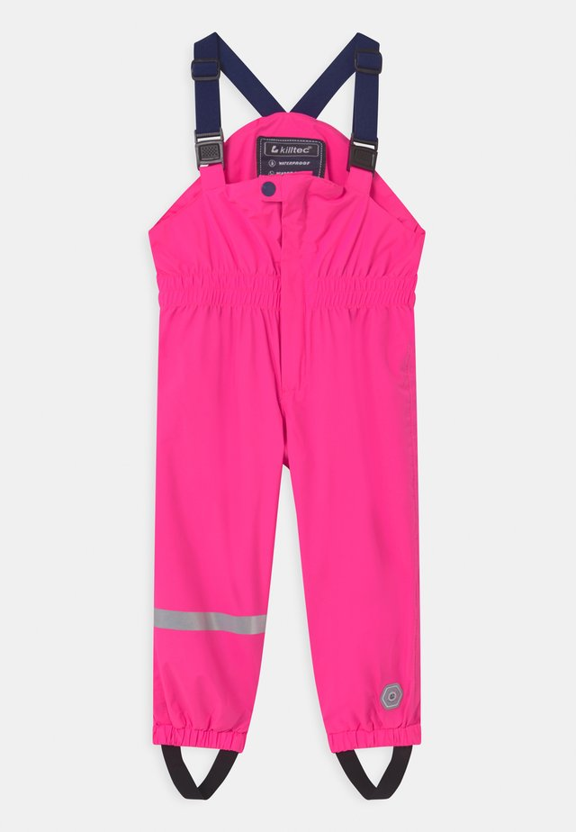 JAELY MINI UNISEX - Pantaloni impermeabili - neon pink