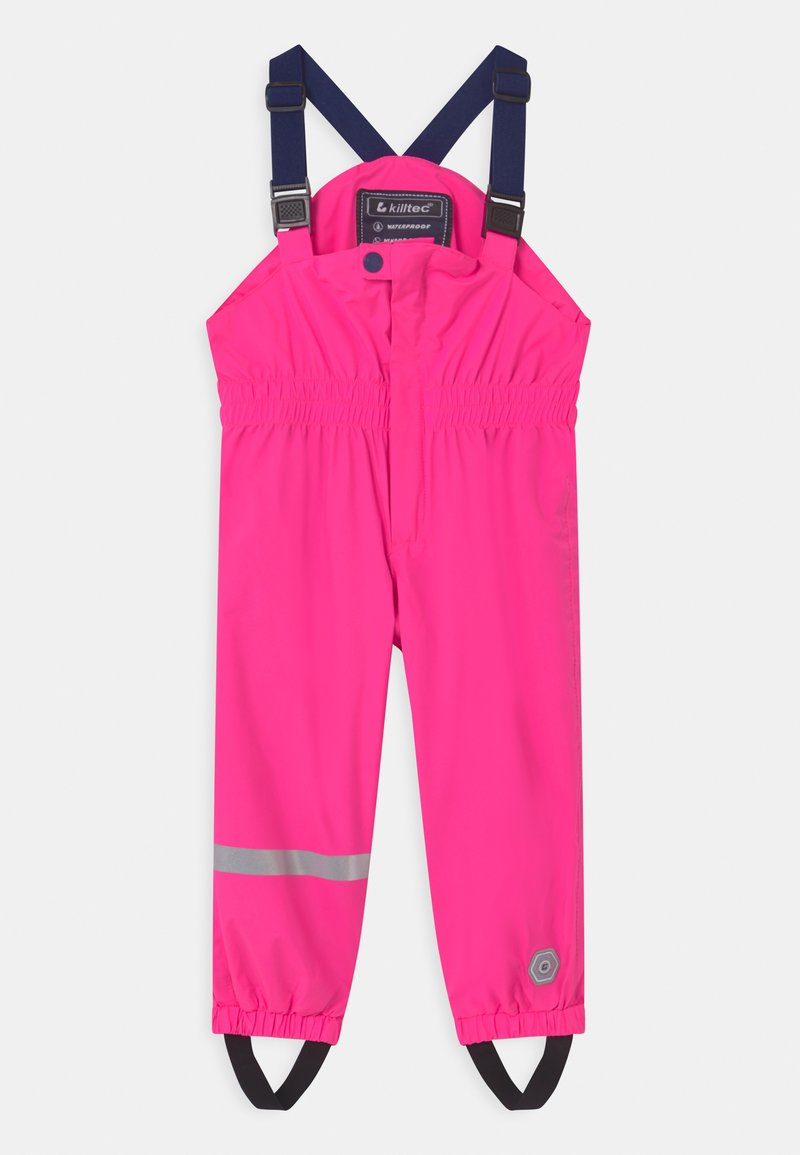 Killtec - JAELY MINI UNISEX - Rain trousers - neon pink