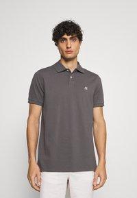 Marc O'Polo - SHORT SLEEVE BUTTON PLACKET - Polo shirt - gray - 0
