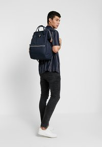 anello - BACKPACK COLOR BLOCK LARGE UNISEX - Batoh - navy - 1
