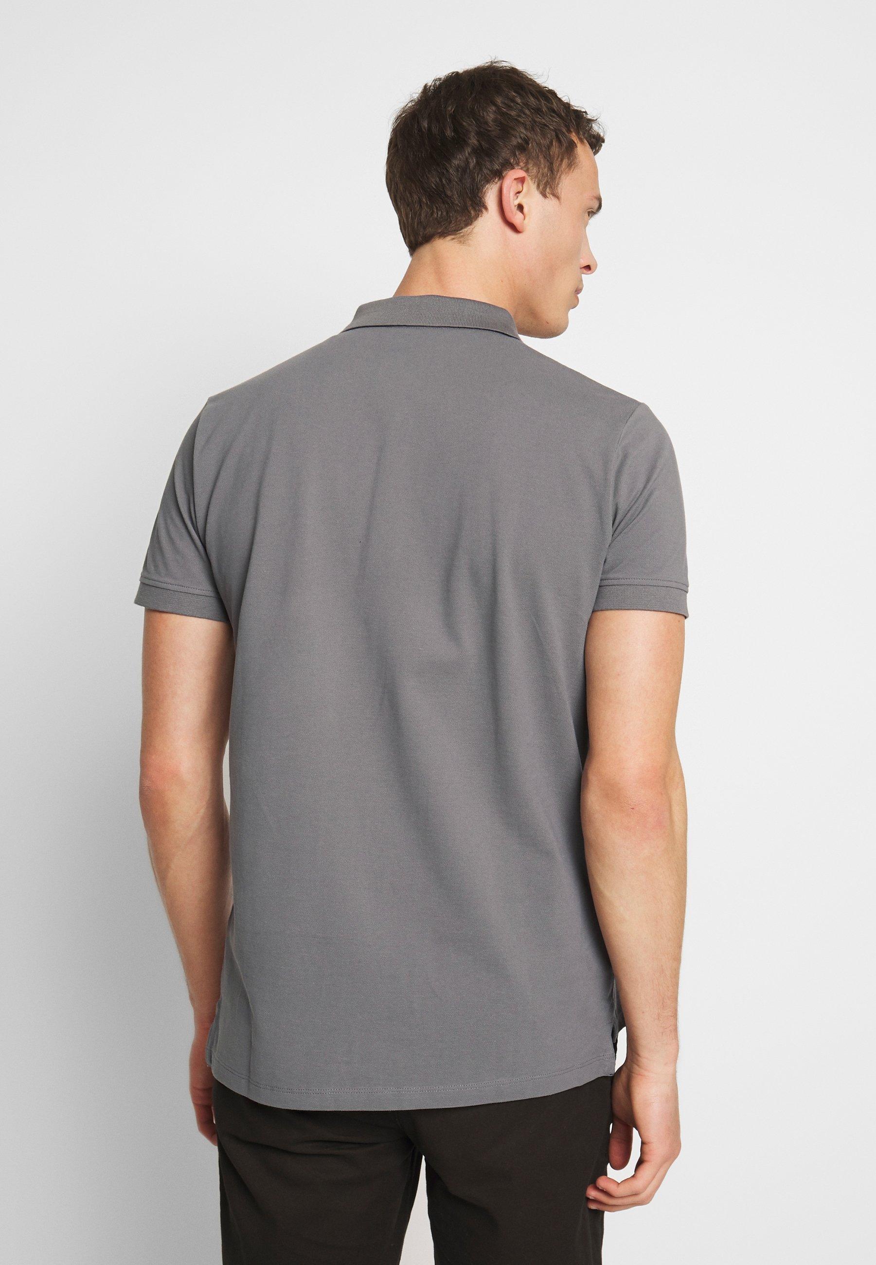 Esprit OCS  - Polo shirt - dark grey XG6my