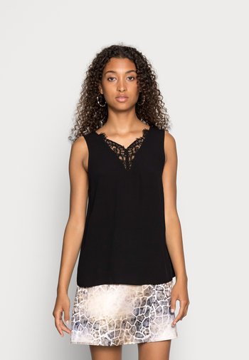 VMESTHER  LACE - Top - black