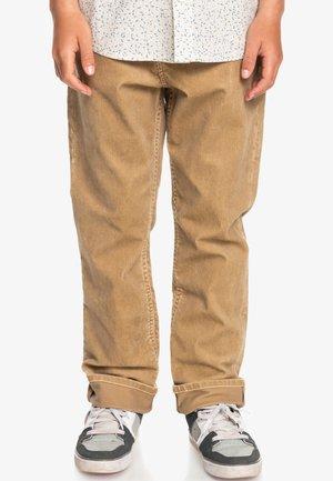 Straight leg jeans - plage