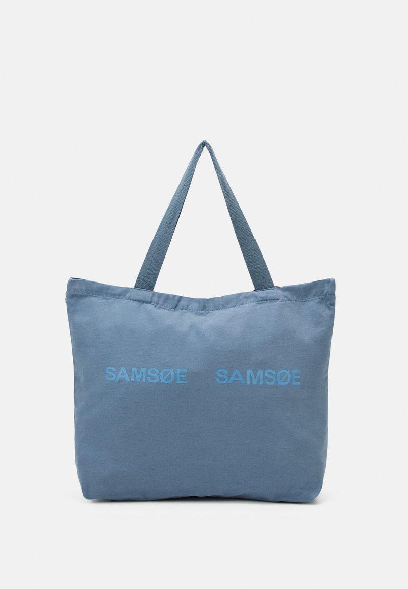 Samsøe Samsøe - FRINKA SHOPPER  - Tote bag - china blue