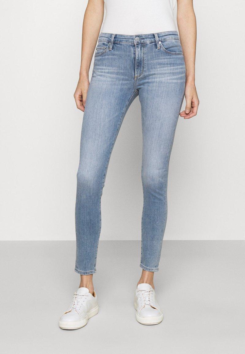 AG Jeans - FARRAH SKINNY ANKLE - Skinny-Farkut - light blue
