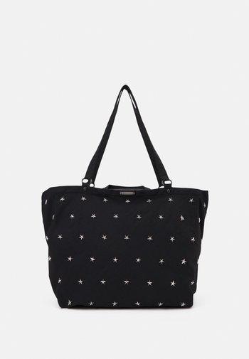 SIENNA TOTE STARS - Handbag - black