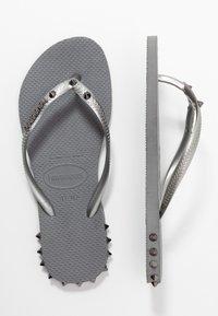 Havaianas - SLIM ROCKY - Pool shoes - steel grey - 4
