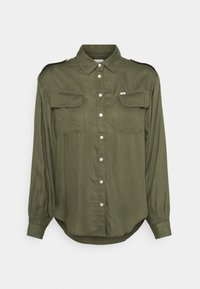 Lee - UTILITY  - Button-down blouse - olive green - 5
