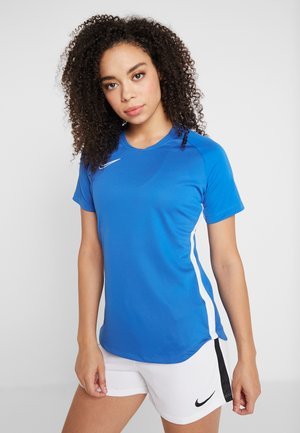DRY ACADEMY 19 - T-shirt z nadrukiem - royal blue/white