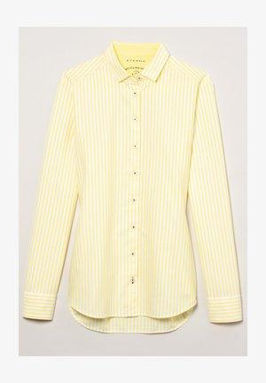 MODERN CLASSIC - Overhemdblouse - gelb/weiss