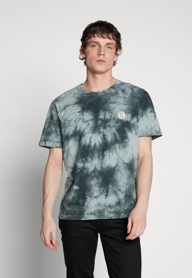 UNO - T-shirt con stampa - pale green