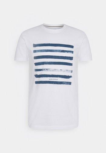 Print T-shirt - multi/murphy marine