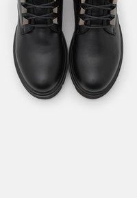 KHARISMA - Platform ankle boots - soft nero - 5