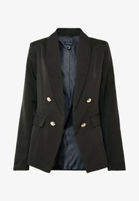 New Look - UTILITY BUTTON - Blazer - black