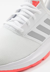 adidas Performance - GAMECOURT - Multicourt tennis shoes - footwear white/silver metallic/signal pink - 5