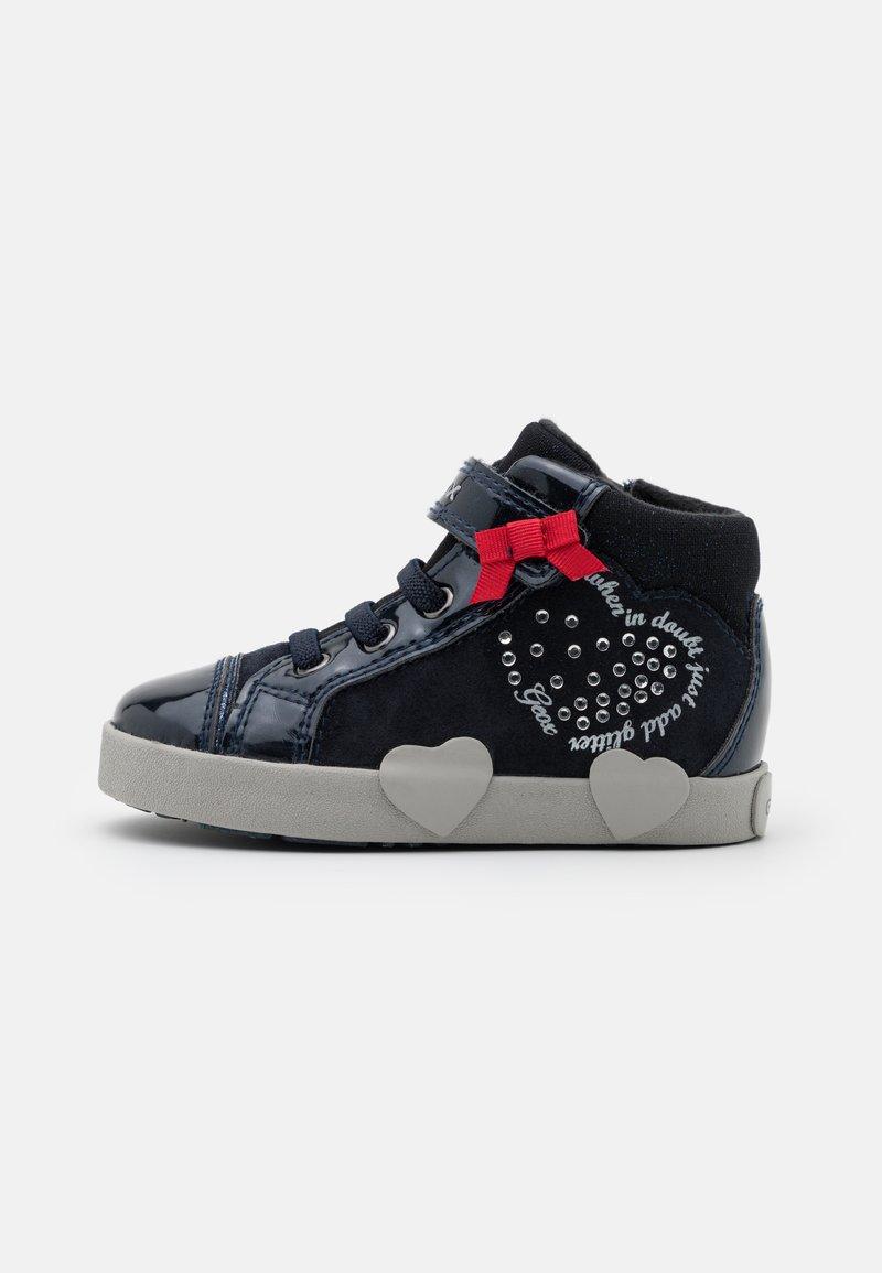 Geox - KILWI GIRL - Sneakers hoog - dark navy