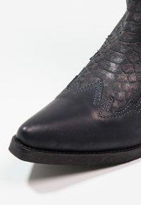 Kentucky's Western - Cowboy/Biker boots - natural/piedra - 5