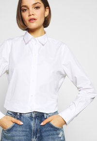 Lacoste - REGULAR FIT CF5614  - Button-down blouse - white - 3