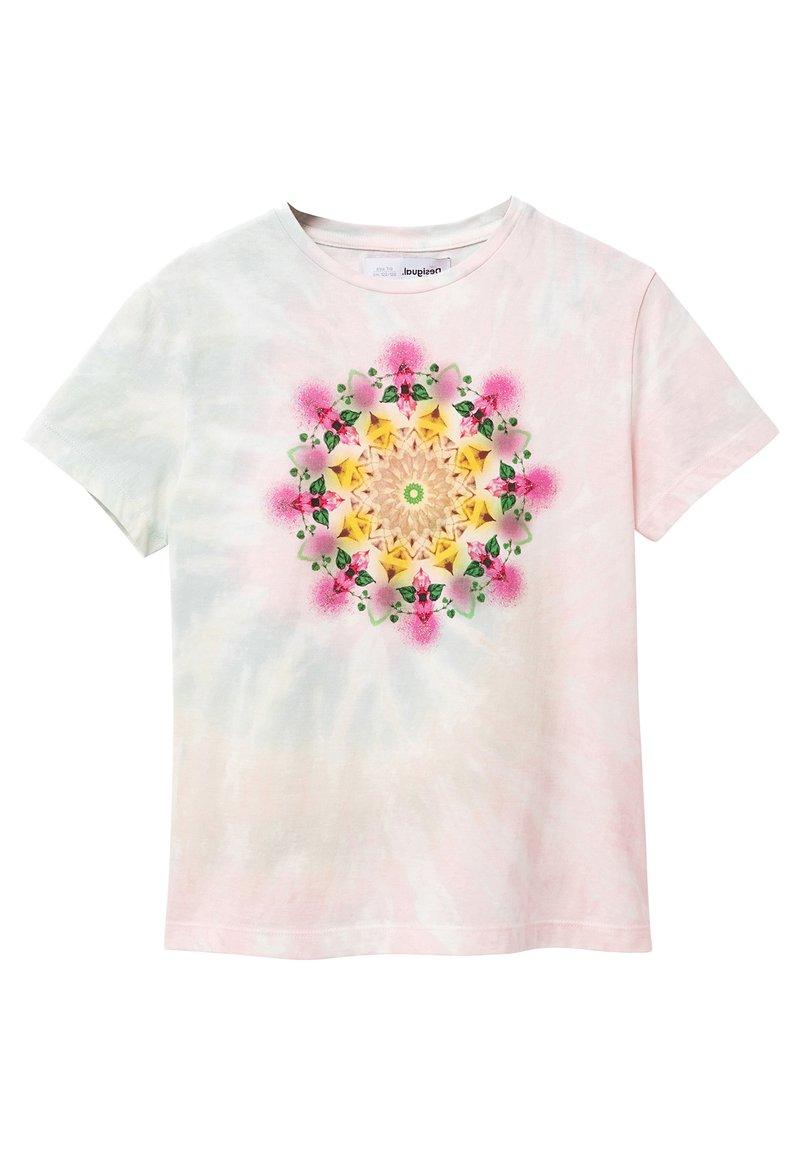 Desigual - Print T-shirt - white