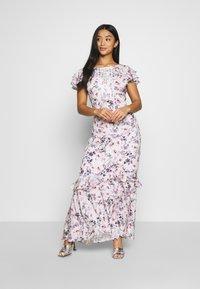 Forever New Petite - FLORAL PETITE - Długa sukienka - white - 1