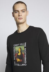 Mister Tee - CAN'T TELL ME NOTHING TEE - Mikina - black - 3