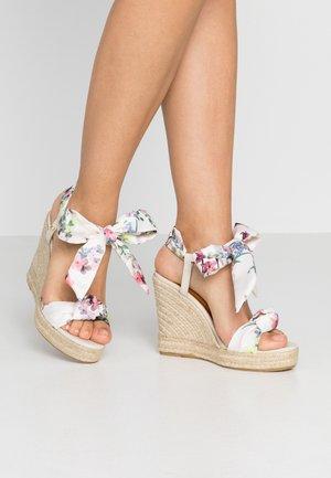 KELISPE - High heeled sandals - ivory