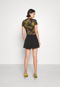 Versace Jeans Couture - SKIRT - Mini skirt - black - 2