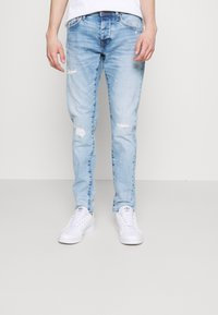 Pepe Jeans - STANLEY BANDANA - Jeans Tapered Fit - denim - 0
