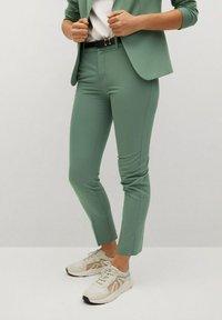 Mango - BOREAL - Chino kalhoty - groen - 0