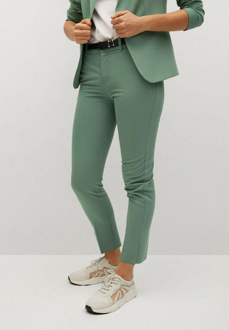 Mango - BOREAL - Chino kalhoty - groen