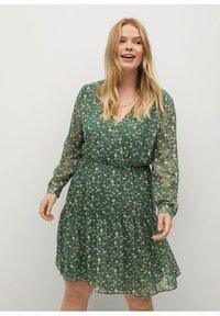 Violeta by Mango - Day dress - grün - 2