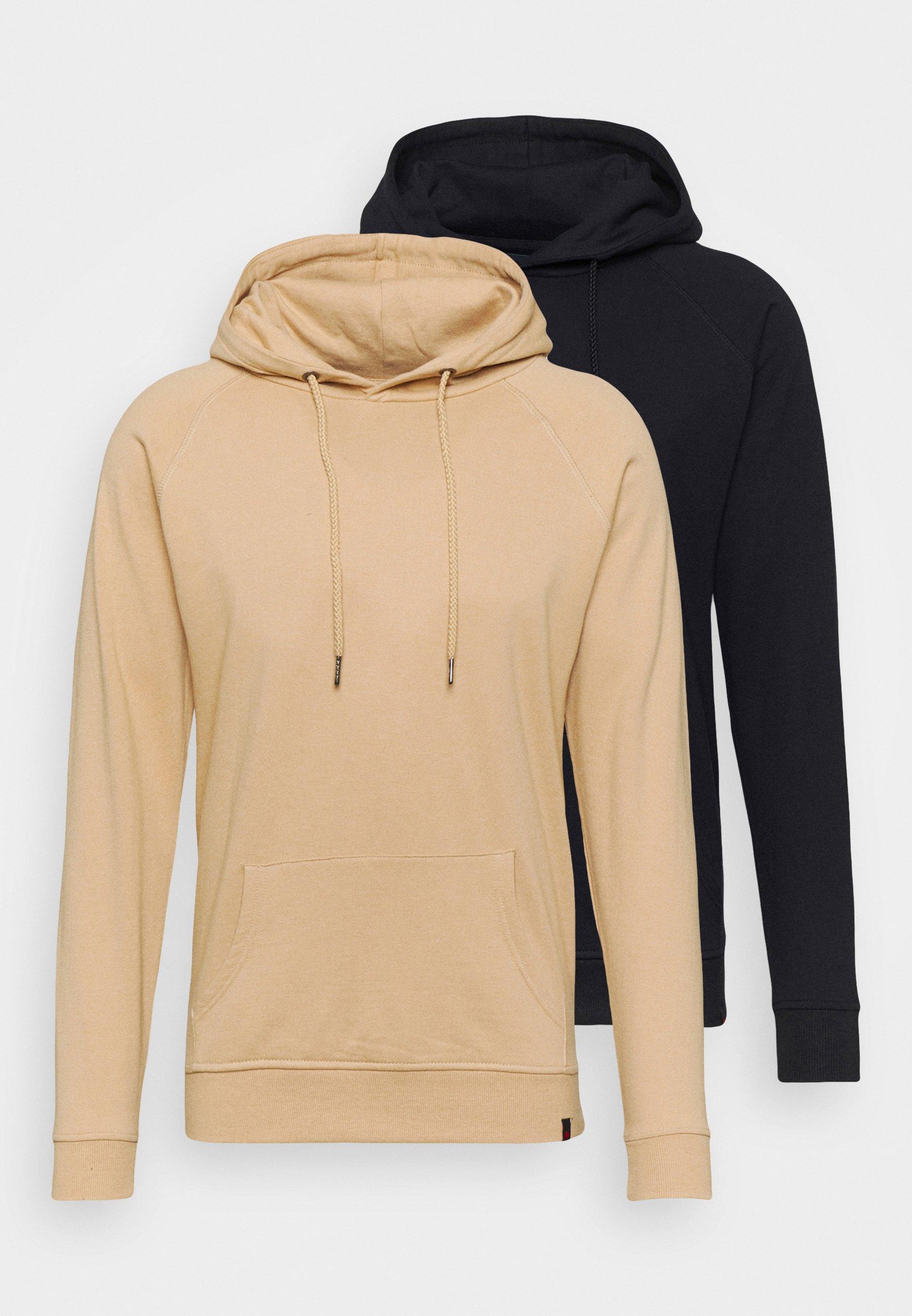 Herren BASIC HOODIE 2 PACK - Sweatshirt