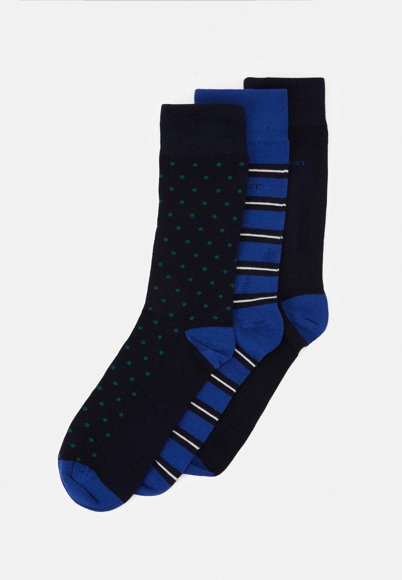 GANT - MIX SOCKS GIFT BOX 3 PACK - Socks - crisp blue