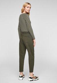 s.Oliver - Jumper - khaki stripes - 2