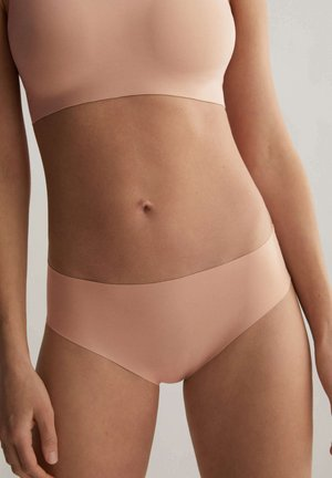 INVISIBLE LASER CUT MICROFIBRE HIPSTER - Briefs - nude
