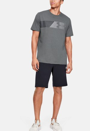 FAST LEFT CHEST - T-shirt print - pitch gray medium heather