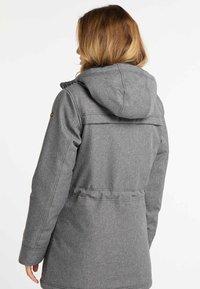 DreiMaster - Winter coat - grey melange - 2