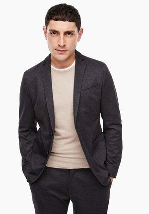 Blazer jacket - purple/grey structured